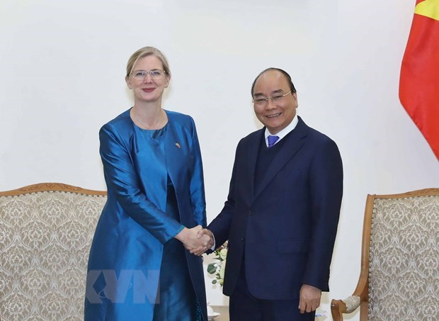 PM urges Swedish Ambassador to bolster trade with Vietnam