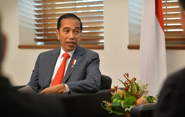 Indonesian President's approval rate surges