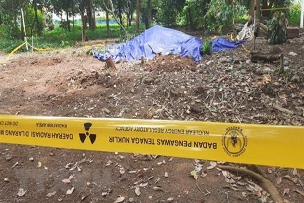 Indonesia confirms radioactive contamination cases