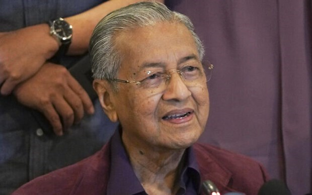 Malaysian King accepts PM Mahathir's resignation