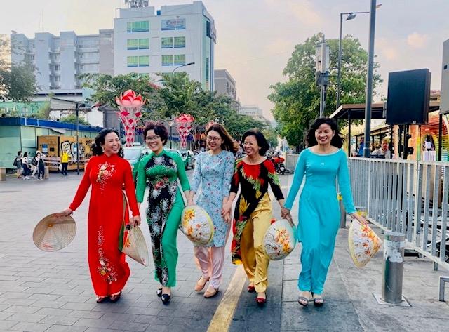 Ao Dai week in Binh Duong