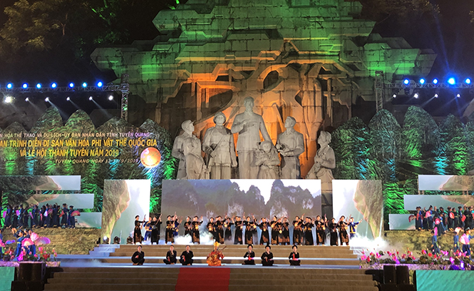 Cultural activities in Tuyen Quang province towards great festivals in 2020