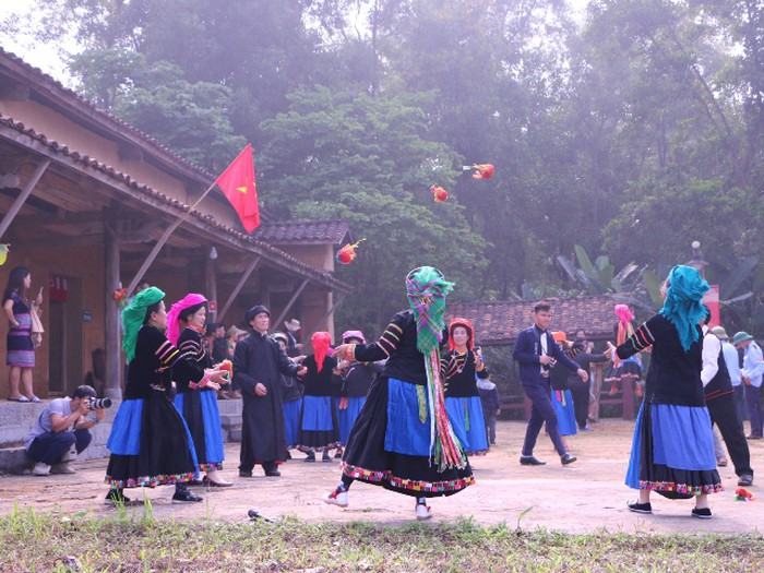 February activities at Vietnam National Village for Ethnic Culture and Tourism