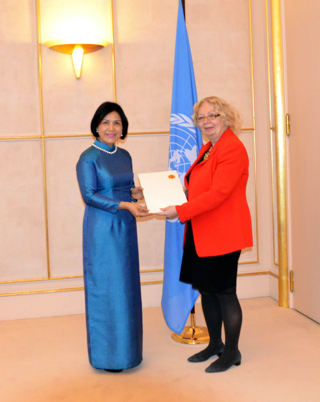 Vietnamese Ambassador presents credentials to UN Secretary General