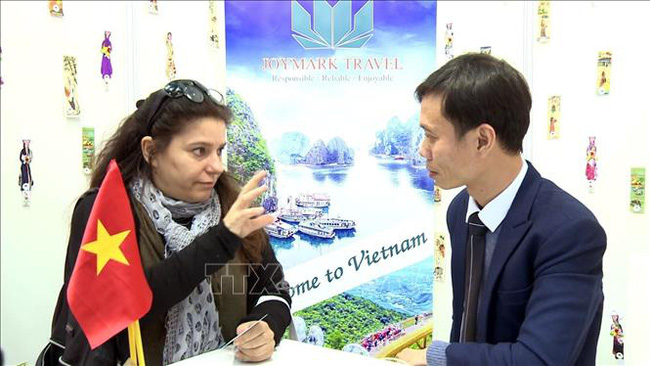 Vietnamese businesses attend the annual International Tourism Fair in Israel