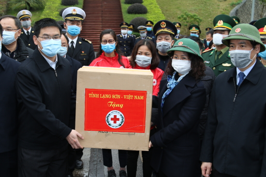 Lang Son province assists Chinese region in fighting coronavirus