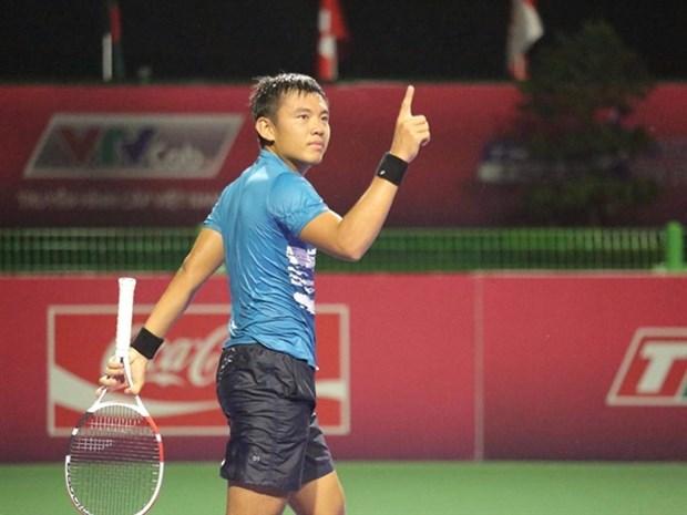 Vietnam's top tennis player Nam advances in Egyptian tennis tournament