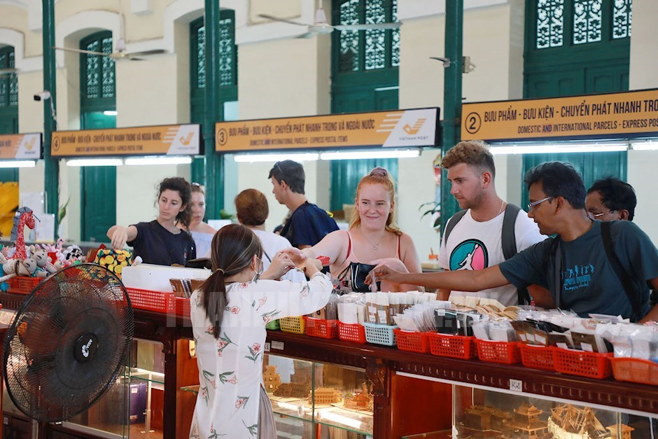 Ho Chi Minh city attracts foreign tourists