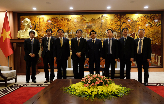 Hanoi increases cooperation with Japanese partners