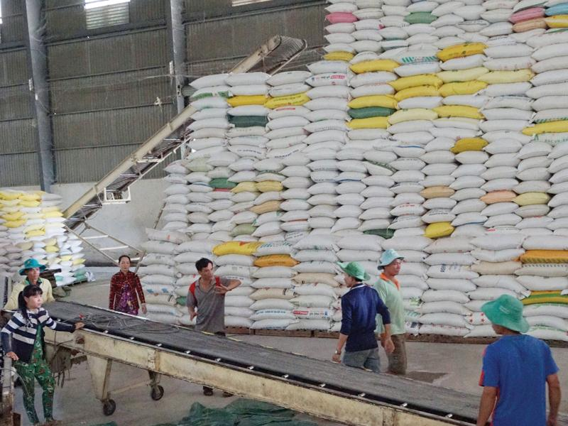 Rice exported at good prices