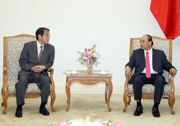 Japanese ambassador bids farewell to Vietnamese PM