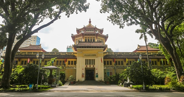 Ho Chi Minh city Museum of History offers more than 40,000 artifacts