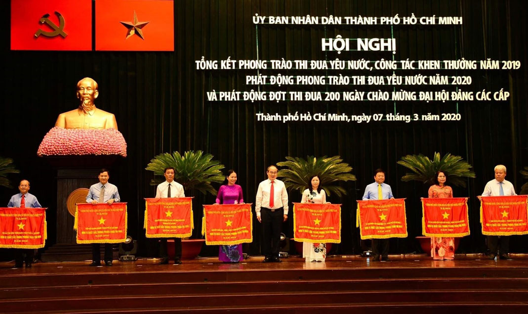 A 200-day emulation to celebrate Party Congress at all levels launched in Ho Chi Minh city