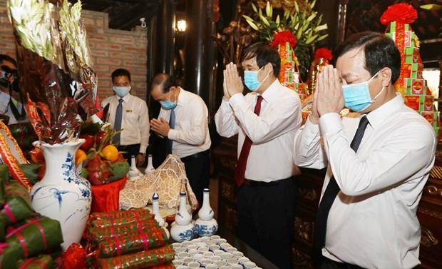 Ceremony commemorates legendary ancestors of Vietnam
