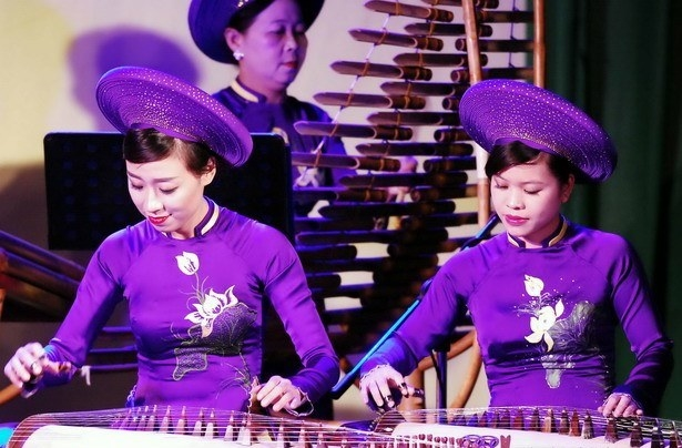 Traditional Vietnamese musical instrument performance competition