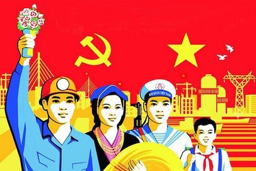 Posters towards to the 11th HCMC Party Congress and the 13th National Party Congress