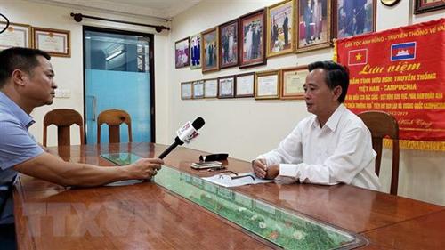 Vietnamese community in Cambodia actively prevent COVID-19