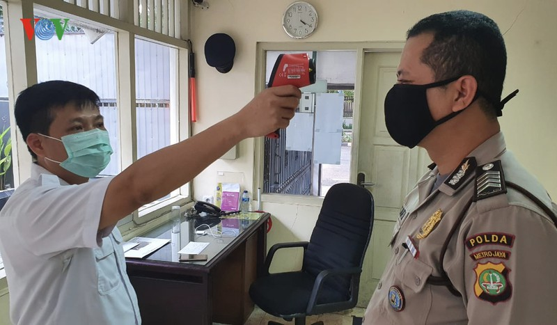 Vietnamese Embassy in Indonesia carries out measures to prevent Covid-19