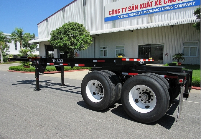 Vietnamese corporation exports semi-trailers to US