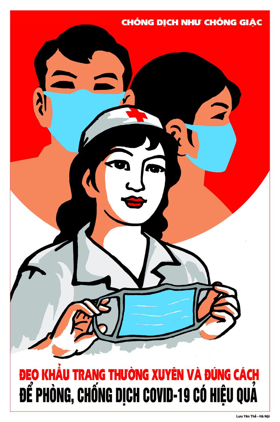 Vietnamese artists' propaganda posters praised on British newspaper