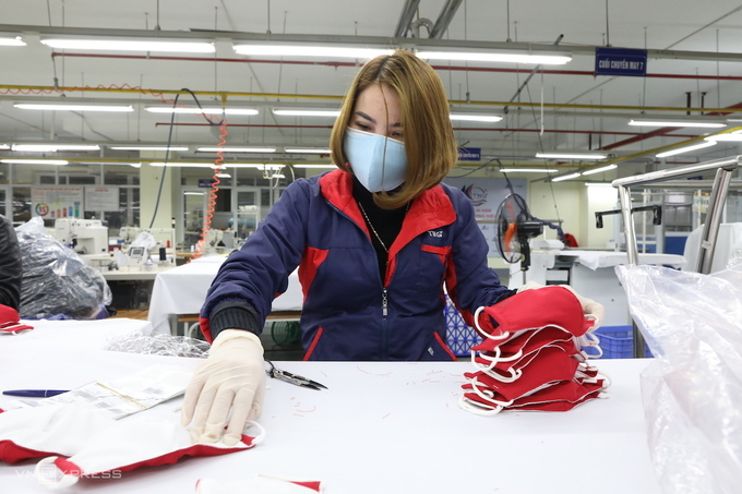 Vietnam exports millions of face masks to large markets