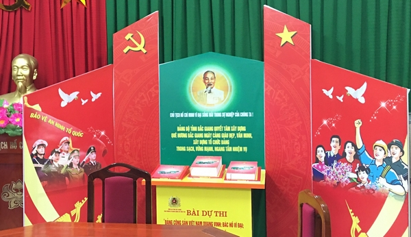 Bac Giang: Over 17,000 entries participate in contest about Party, Uncle Ho and nation