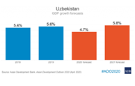 Uzbekistan growth to slow in 2020 amid pandemic and lower energy price