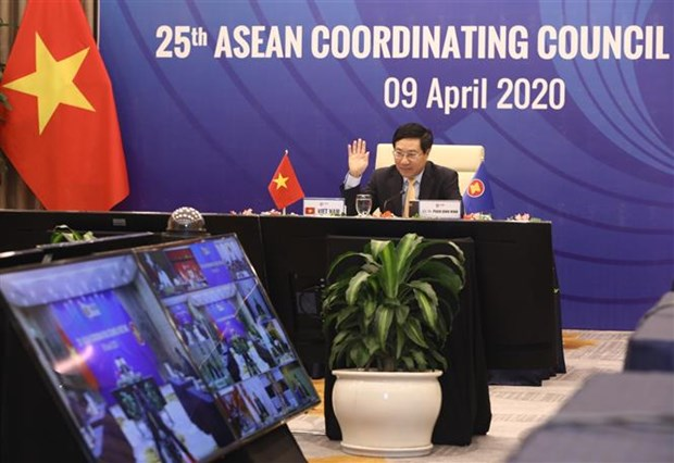 ASEAN foreign ministers agree to set up COVID-19 response fund