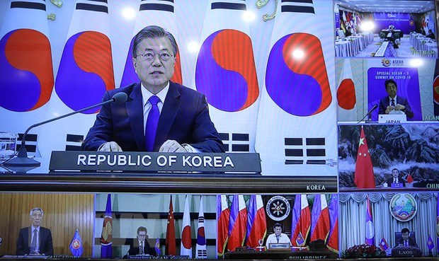 Korean diplomat praises outcome of ASEAN+3 Summit on COVID-19