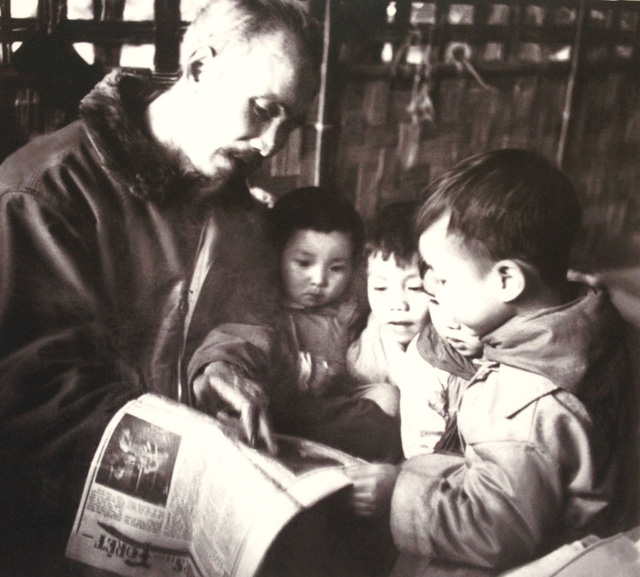 Contest on Uncle Ho and children in Thai Binh