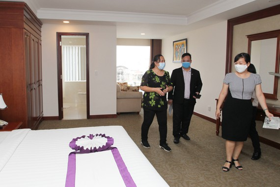First resort for doctors and nurses in COVID-19 treatment in Ho Chi Minh city