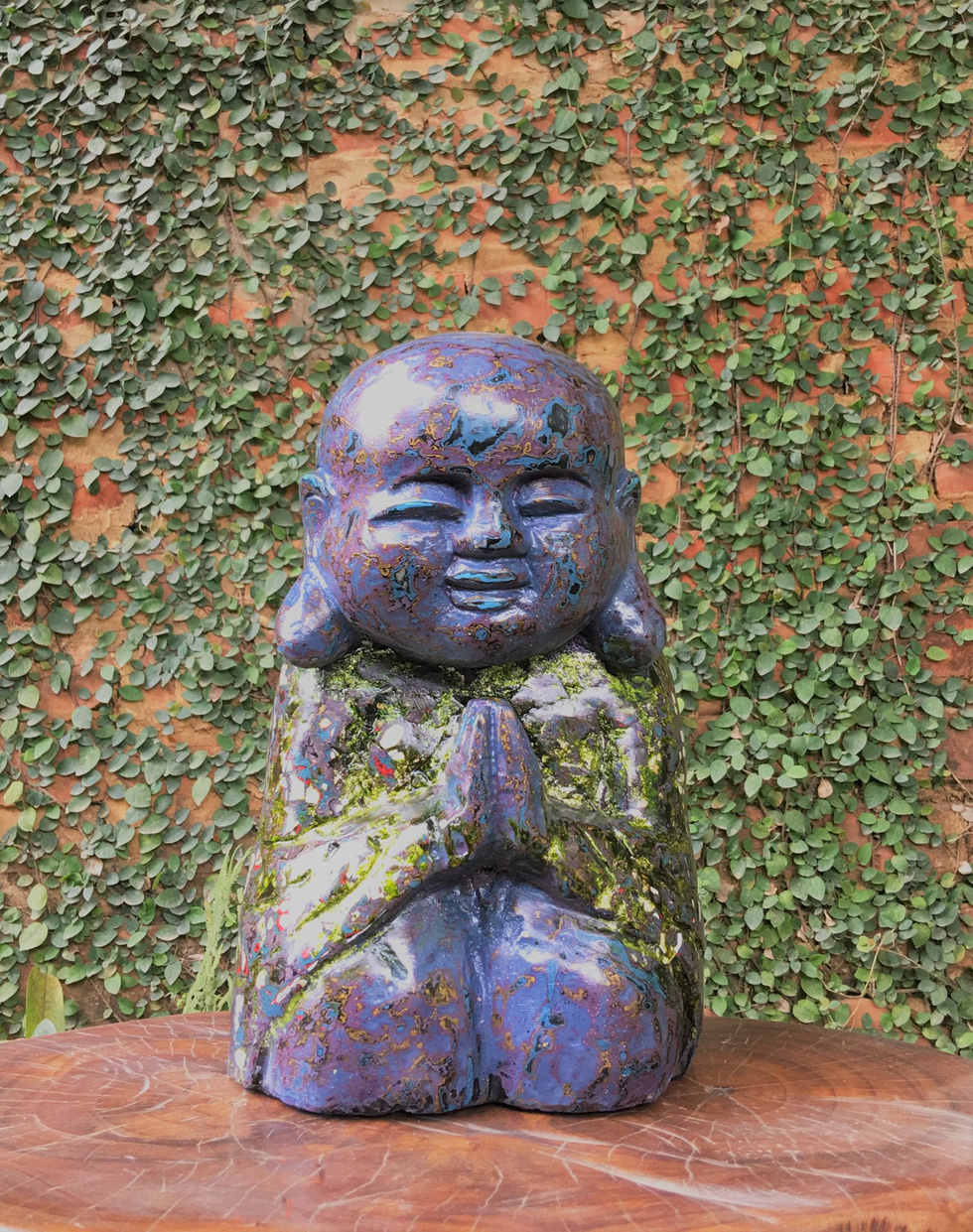 Sculpture works at an online exhibition