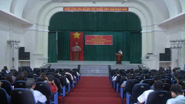Studying and following President Ho Chi Minh