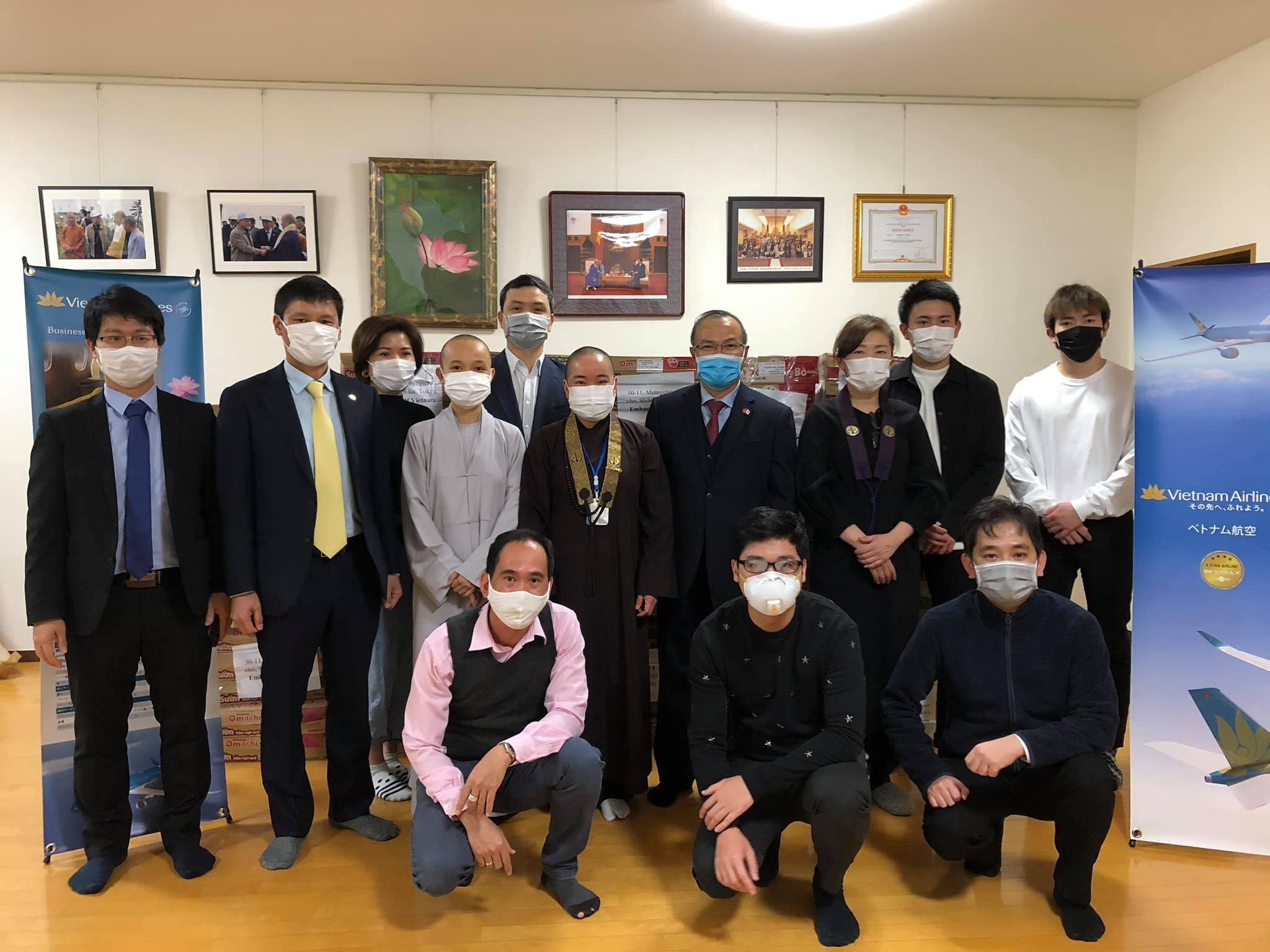 Vietnamese Embassy in Japan supporting citizens affected by COVID-19