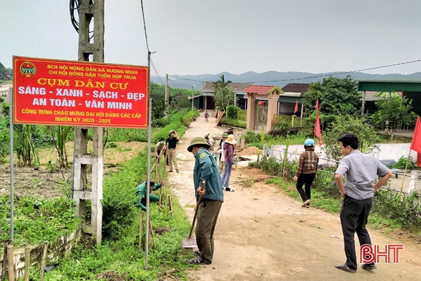 Ha Tinh province accelerates projects welcoming Party Congresses