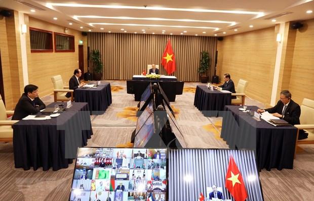 Vietnam calls for stronger NAM cooperation in COVID-19 combat
