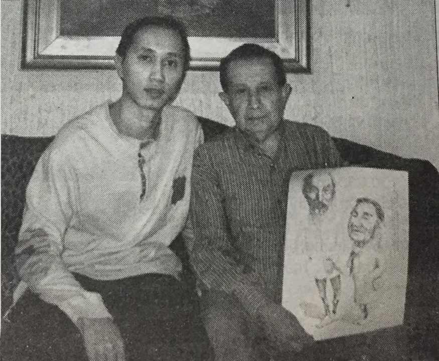 First Argentinean person who met Uncle Ho