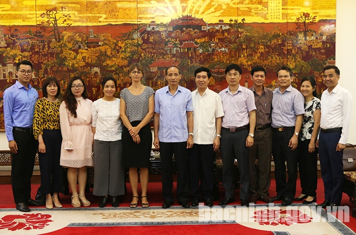 Bac Ninh increases cooperation with Denmark in diverse areas