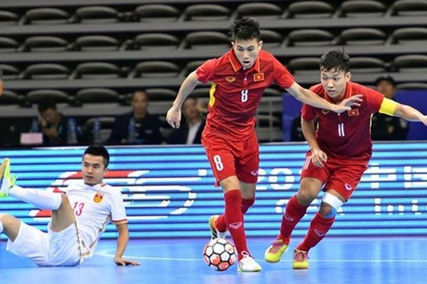 Vietnam futsal team appear in top 10 teams in Asia
