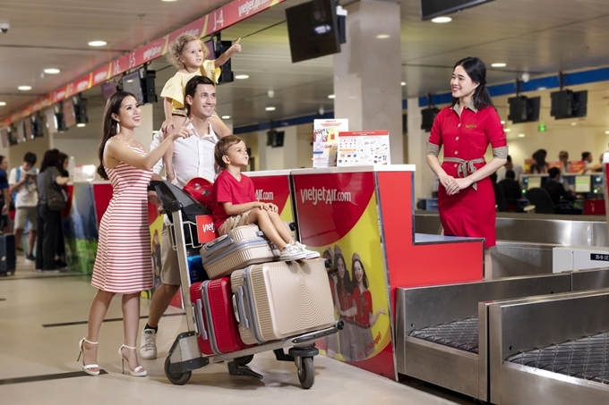 2 million tickets priced at only VND1,600 for children and families to fly across Vietnam