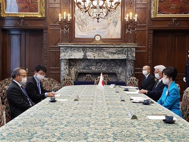 Top Japanese legislator praises Vietnam's COVID-19 fight