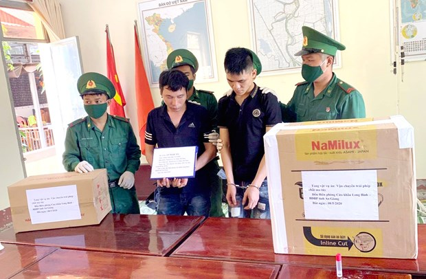 Suspected drug traffickers arrested in An Giang province