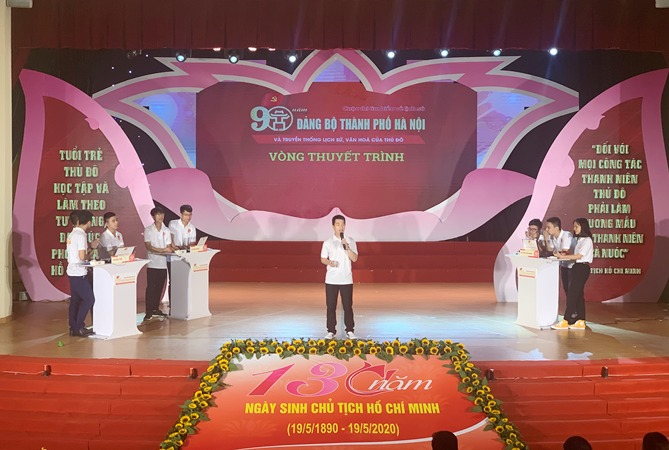 Studying 90-year history of Hanoi City Party Committee