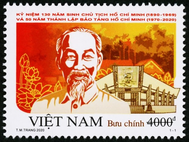 Special stamp set issued to celebrate President Ho Chi Minh