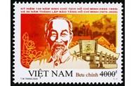 Stamp set on President Ho Chi Minh issued