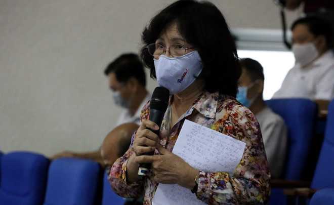 Ho Chi Minh city: NA deputies learn about voters' aspirations