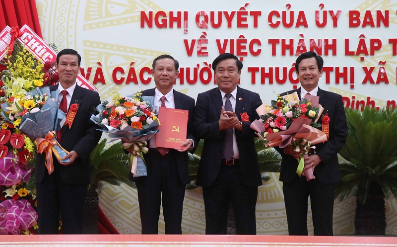 Binh Dinh province's Hoai Nhon town established