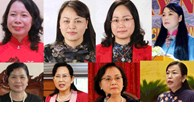 Female Secretaries of eight provincial Party Committees