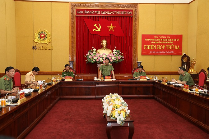 Boosting measures to ensure security and order for Party Congresses at all levels