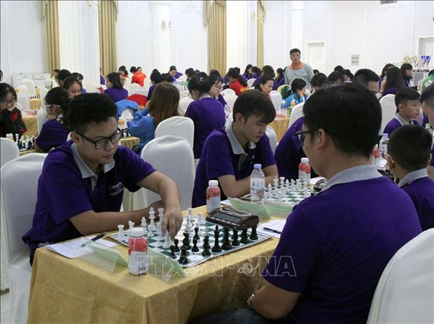 Over 200 players compete in National Team Chess Champs
